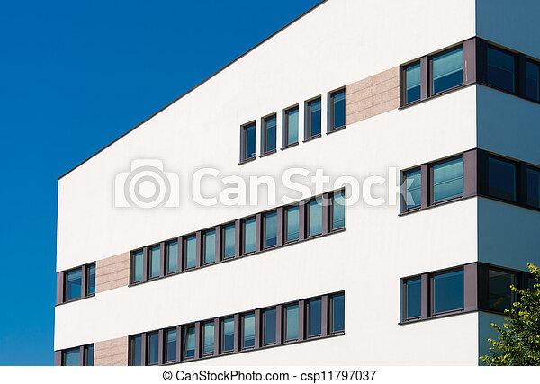 Edificio de oficinas moderno - csp11797037
