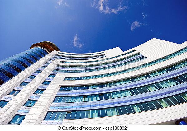 Edificio de oficinas modernos - csp1308021