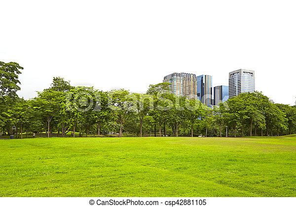 edificio, naturaleza - csp42881105