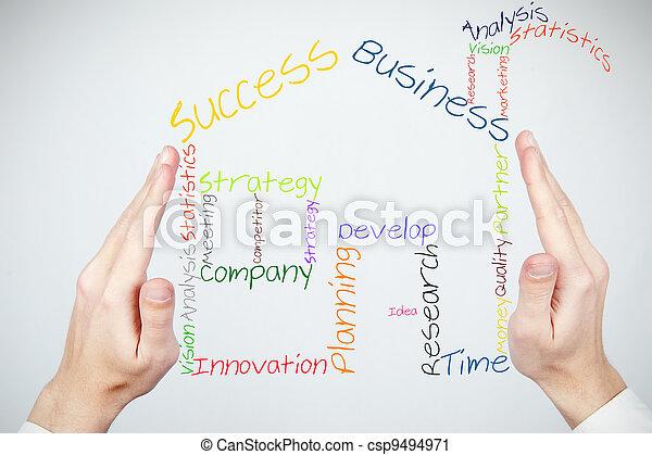 Construir un nuevo negocio - csp9494971