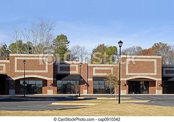 edificio, nuevo, commercial-retail-office - csp0910342