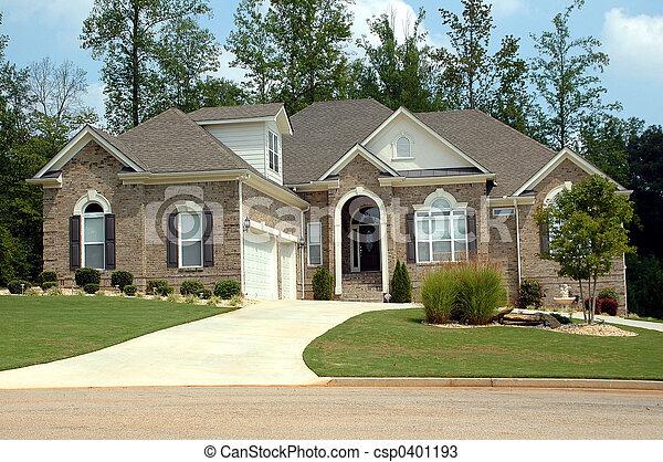 edificio, nuevo hogar - csp0401193
