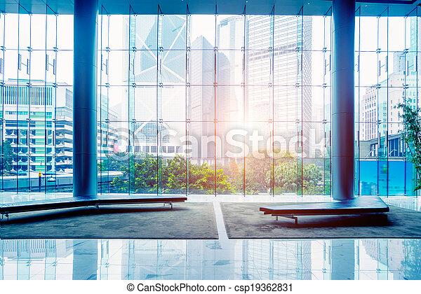 Edificio de oficinas - csp19362831