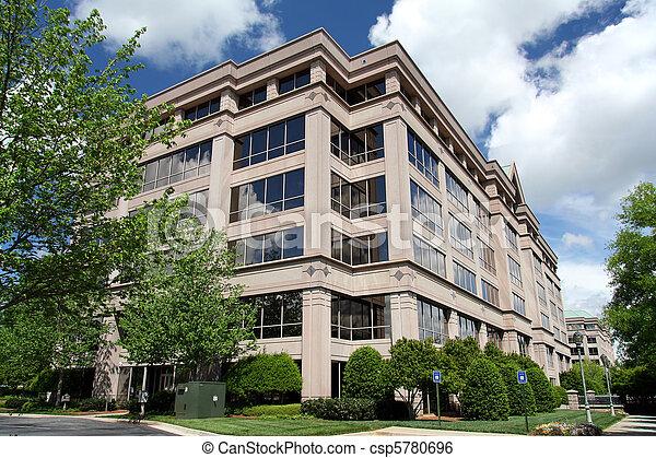 edificio, oficina corporativa - csp5780696