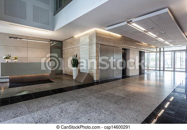 Edificio de oficina - csp14600291