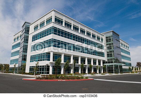 edificio, oficina - csp3103436