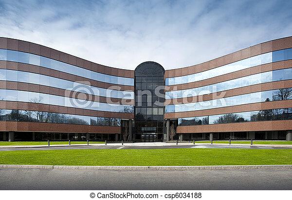 edificio, oficina - csp6034188