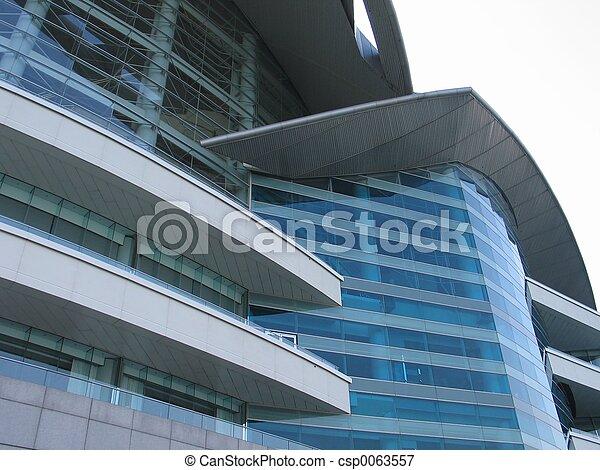 edificio, primer plano - csp0063557