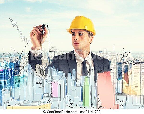 edificio, proyecto - csp21141790