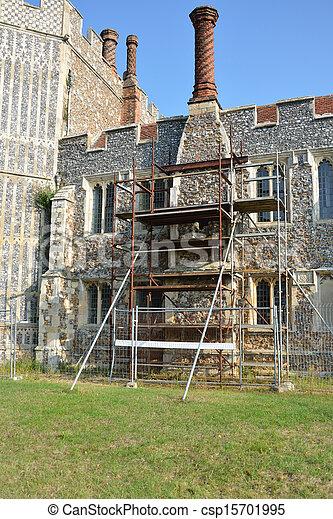 La vieja restauración de edificios - csp15701995