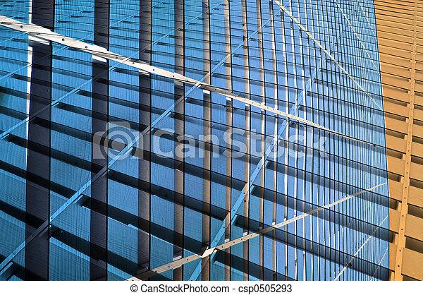 Edificio abstracto - csp0505293