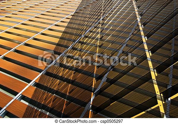 Edificio abstracto - csp0505297