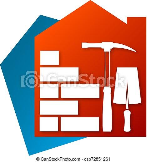 El símbolo de construcción - csp72851261