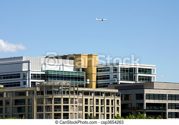 Edificios de apartamentos - csp3654263