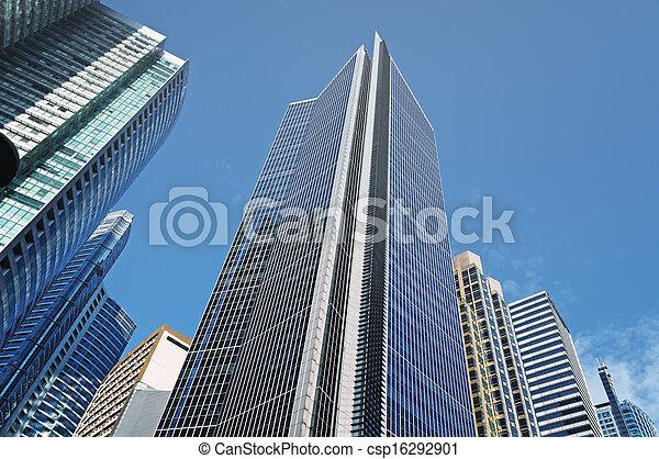 edificios, oficina, filipinas, -, makati, manila - csp16292901
