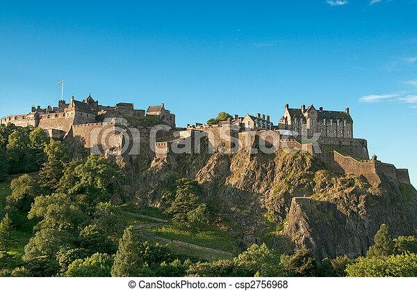Edinburgh Castle, Scotland, UK - csp2756968