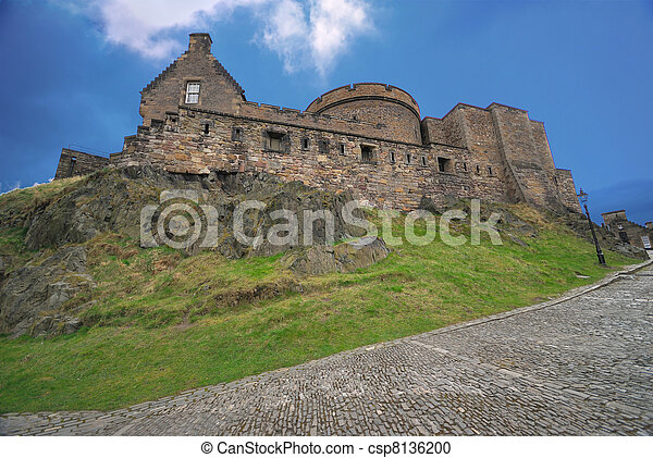 Edinburgh Castle - csp8136200