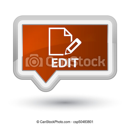 Edit prime brown banner button - csp50483801