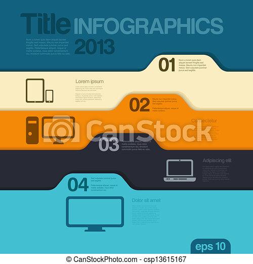editable., design, template., vector., infographics - csp13615167