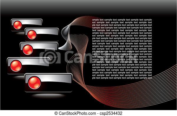 editable website navigation template - csp2534432