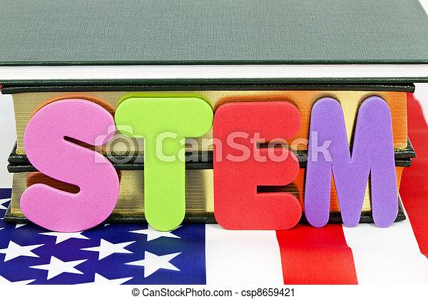 educação, caule - csp8659421