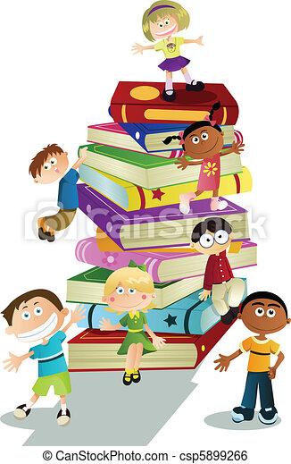 educação, crianças - csp5899266