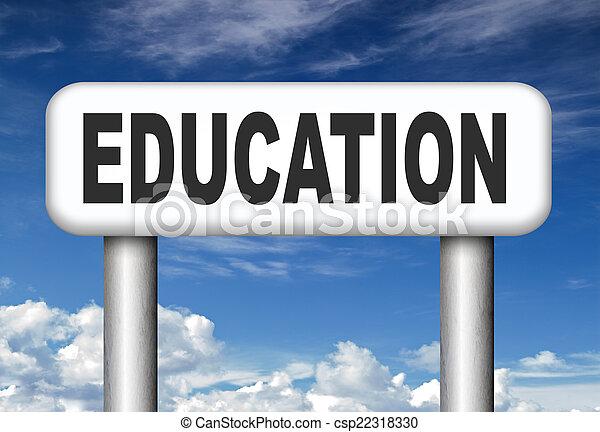 Educación - csp22318330