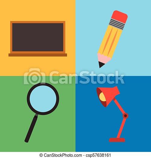 Aprendiendo educación online - csp57638161