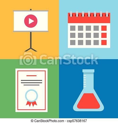 Aprendiendo educación online - csp57638167