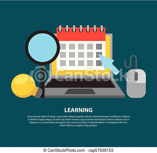Aprendiendo educación online - csp57638153
