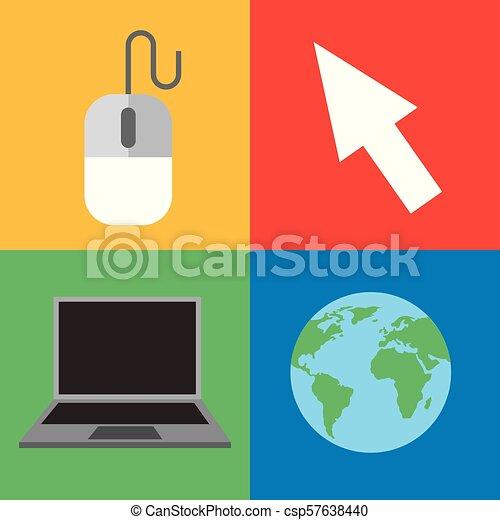 Aprendiendo educación online - csp57638440