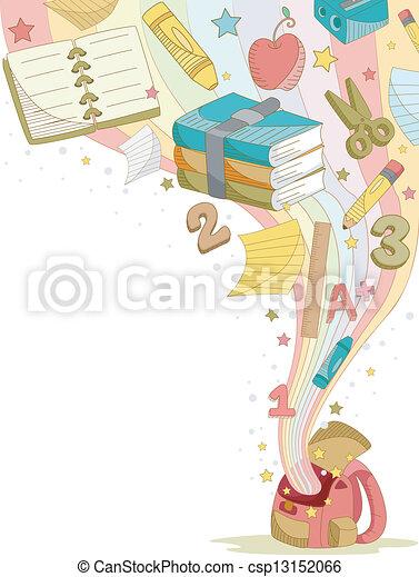 educación, elementos - csp13152066