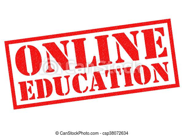 educación, en línea - csp38072634