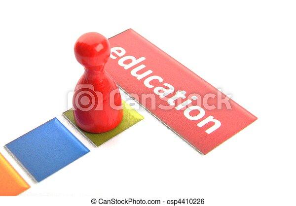Educación - csp4410226