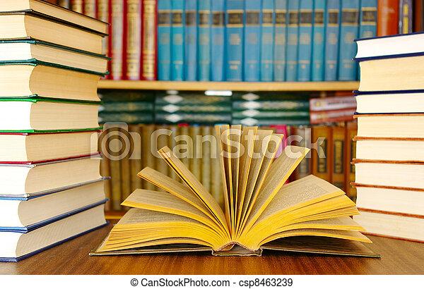 educación, libros - csp8463239
