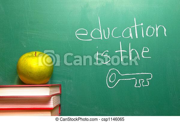 educación, llave - csp1146065