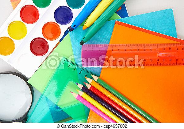 educación, objetos - csp4657002