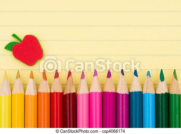 educación, plano de fondo - csp4066174