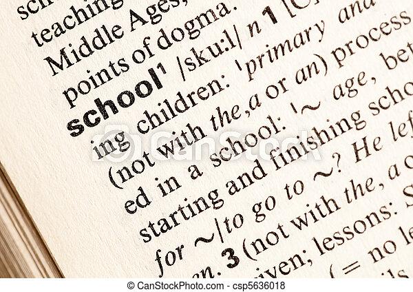 educación - csp5636018