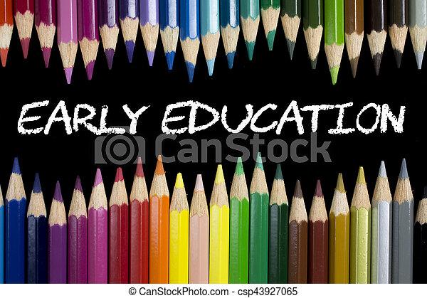 educación temprana - csp43927065