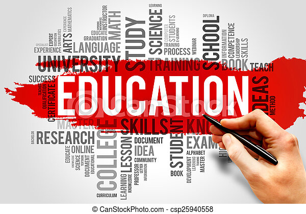Education and learning - csp25940558