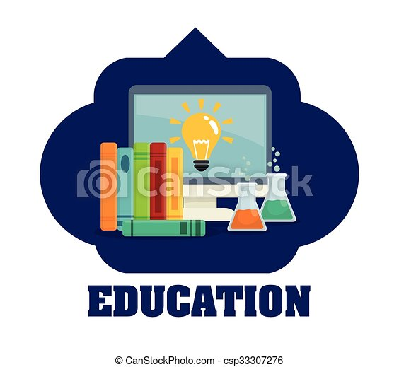 Education and school icons  - csp33307276