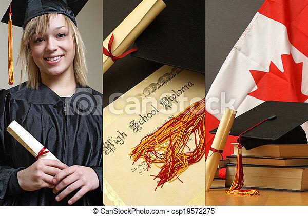 Education Collage - csp19572275