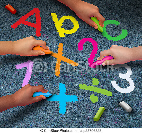 Education Community Learning - csp28706828