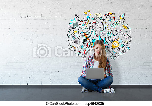 Education concept - csp46420351