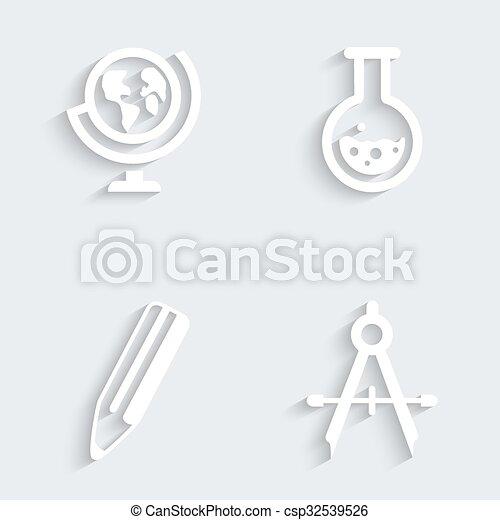 Education Icons | Basics - csp32539526