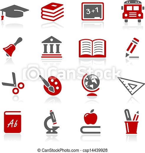 Education Icons -- Redico Series  - csp14439928