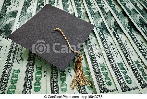education money - csp16043788