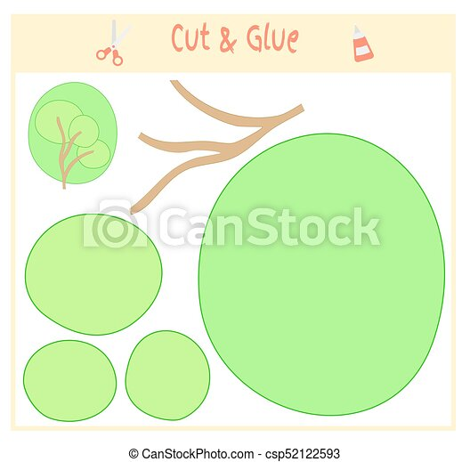 Education Paper Game For The Development Of Preschool Children Cut