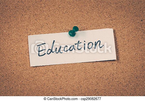 Education - csp29082677